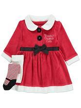 George vianočné šaty s pančuškami, 62 - 92
