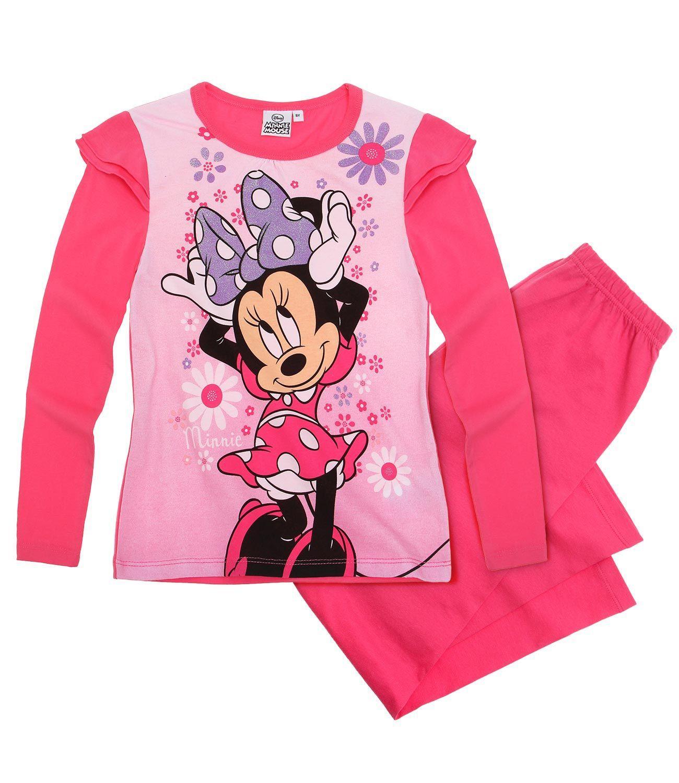 Dlhé dievčenské pyžamo disney minnie fuchsia 1f676ad3b05