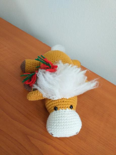 Darek: Hkovan aty s kvetmi Klbkovlny, vlna na pletenie