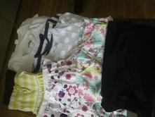 Balík oblečenia  128/134,