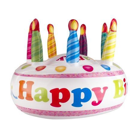 Nafukovacia narodeninová torta,