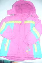 Pestrá ružová zimná bunda, kiki&koko,104