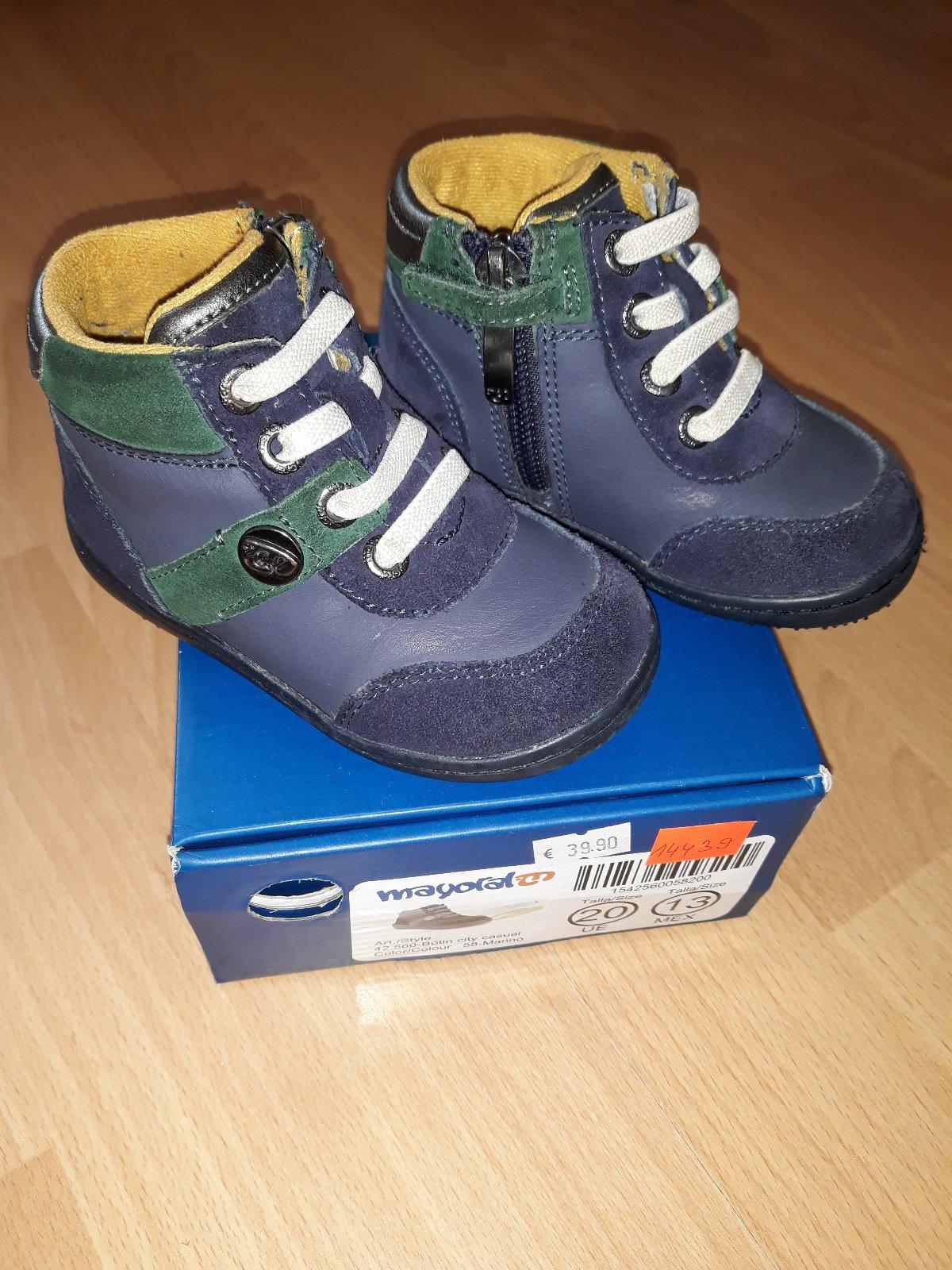 b4be4da699a1 Mayoral prechodné členkové topánky kožené