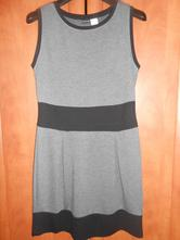 Sivo-čierne šaty, nenosene, bonprix,m