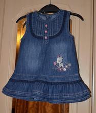 Satecky a klobucik pre dievcatko 3 - 6 mesiacov, mothercare,68