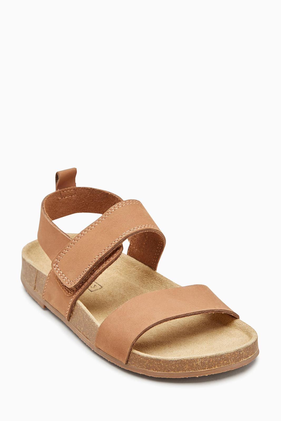 a4348e2ee096 Kožené korkové sandále next