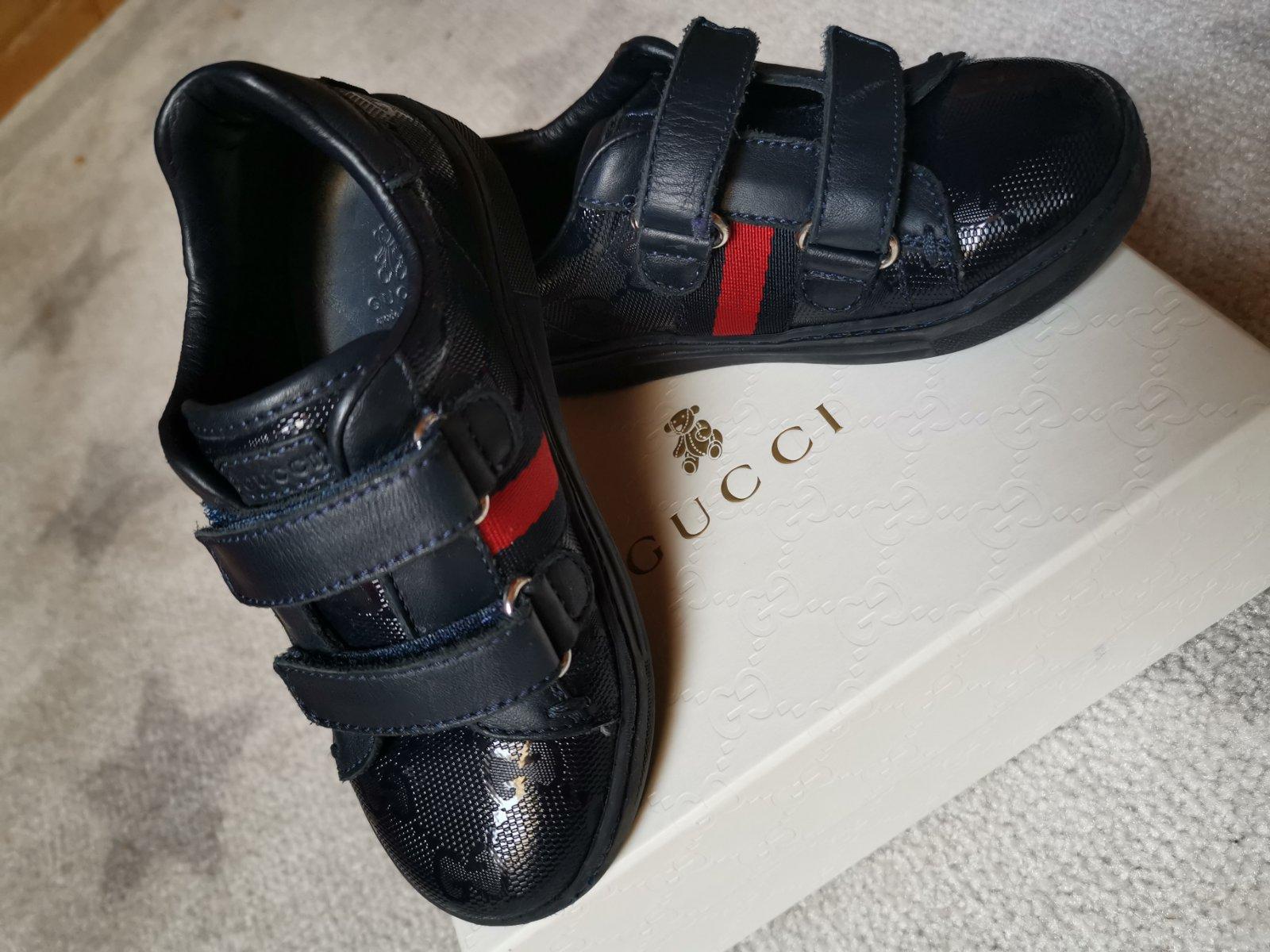 105d2be37 Gucci tenisky, 25 - 80 € od predávajúcej nicolsulcus | Detský bazár |  ModryKonik.sk