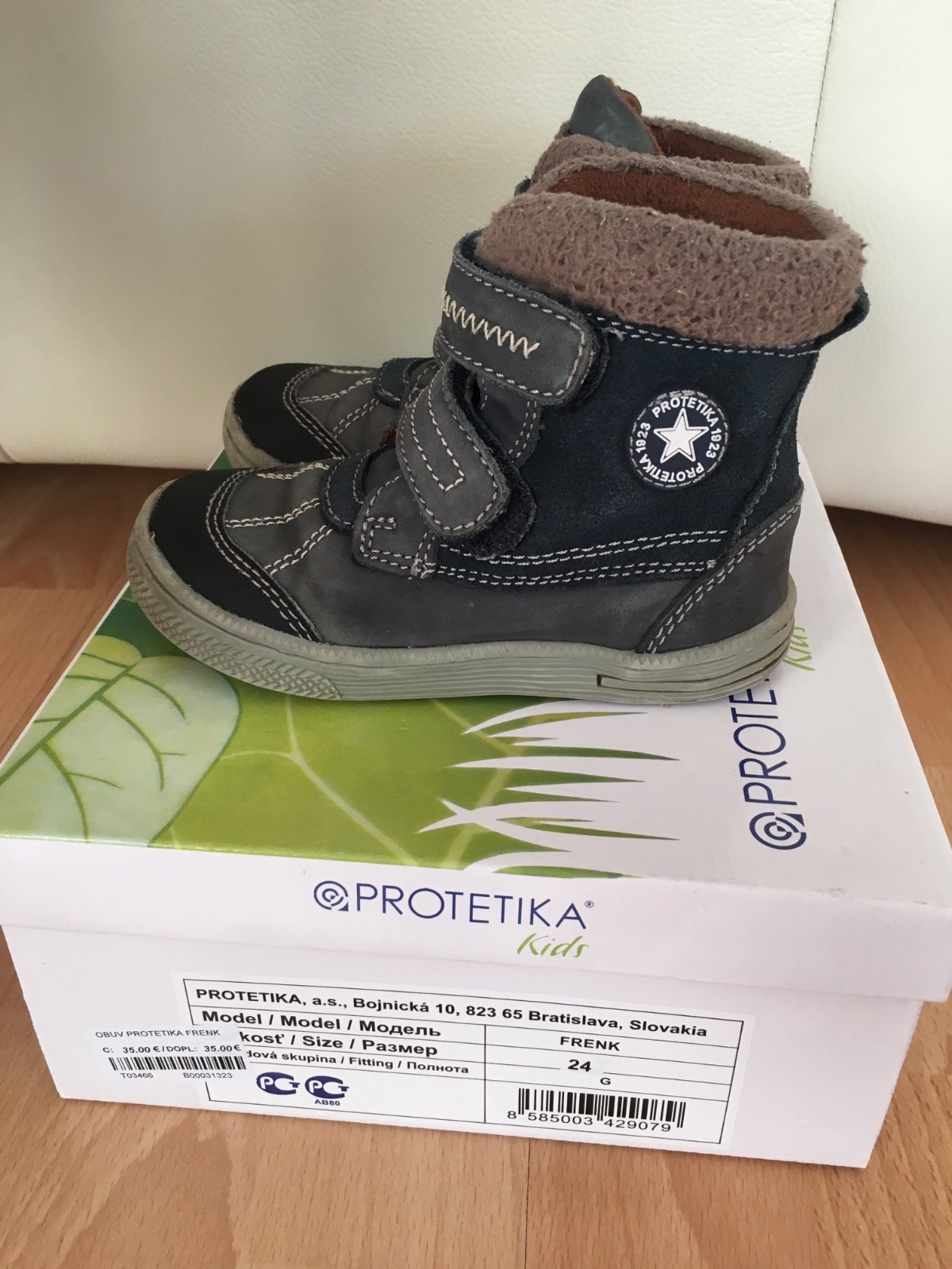 c75807b7e538 Kožená zimná obuv
