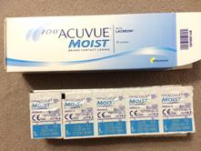 Sosovky 1 day acuvue moist, 30ks, -3.25,
