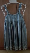 Vyšívané šaty, h&m,122
