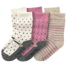 Topomini protiskluzové ponožky, 3 páry, topolino,74 - 104