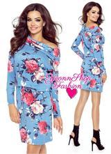 Úžasné dámske šaty bergamo, l - xxl
