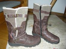 Mierne zateplene cizmy zn.gabor obute len30min, gabor,32