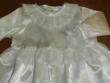 Dievčenské šaty  na krst  elisa        , 74