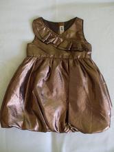 Zlaté príležitostné šaty, h&m,92