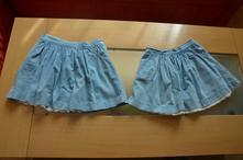 Riflové sukničky f&f, 110