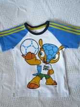 Adidas tričko pre chlapčeka vel.92, adidas,92
