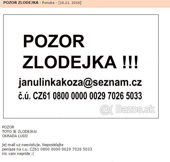 f7cb6d691 S ceskym cislom uctu: CZ61 0800 0000 0029 7026 5033. TC: +420 735267484. Ak s  nou prisiel niekto do kontaktu, mozte ma kontaktovat.