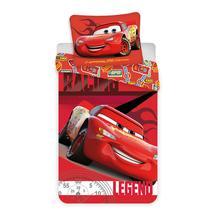 Posteľné obliečky cars červené mikro,