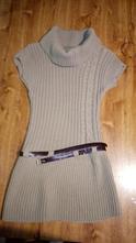 Úpletové  šaty ,