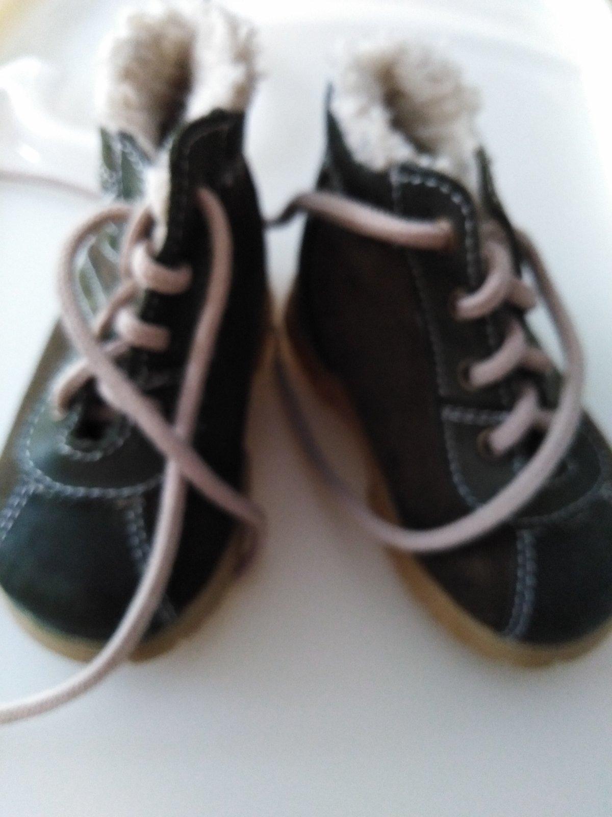 Zimné zateplené topánočky 6881120621a