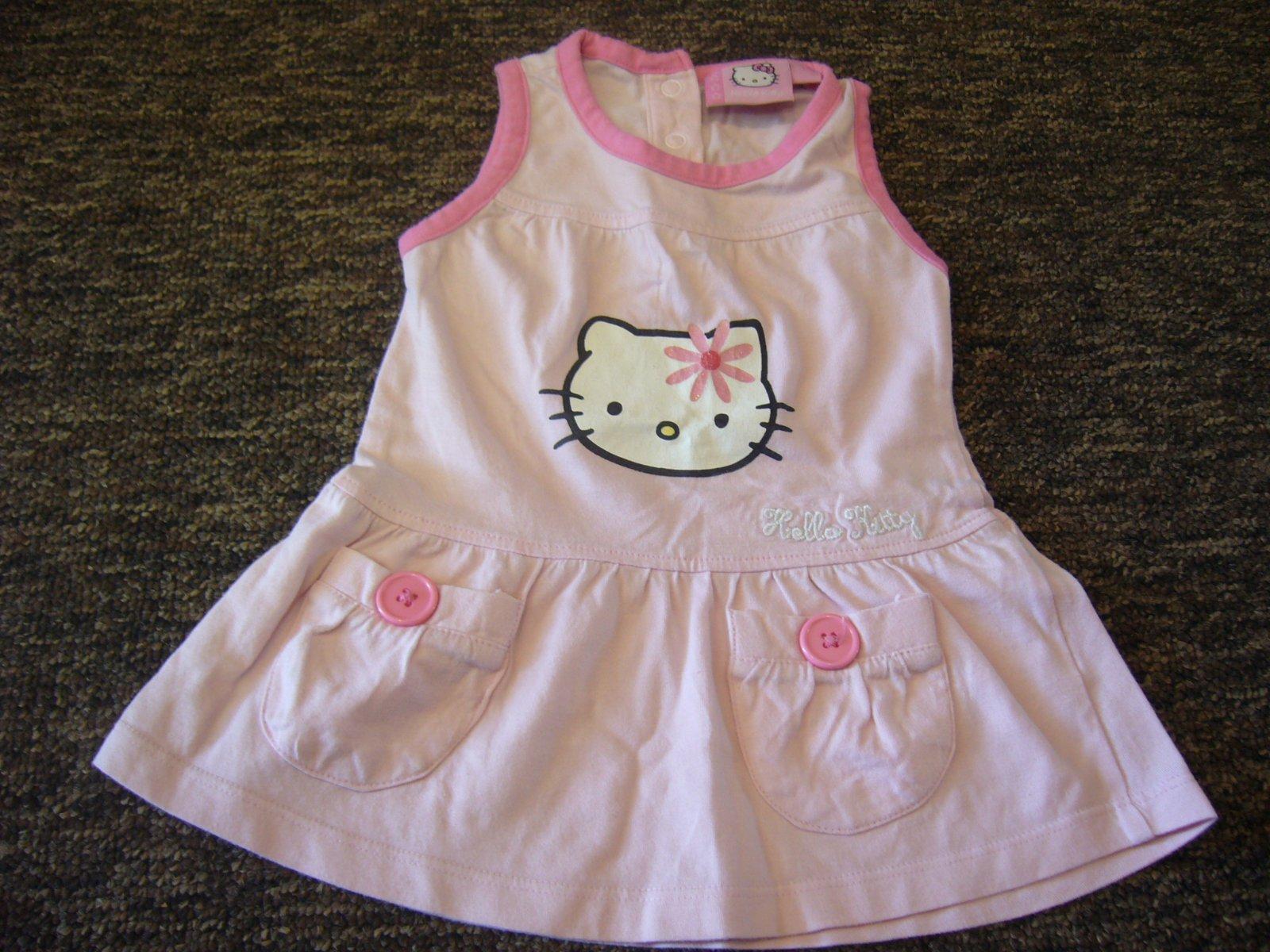 b8314c47d1cc Dievčenské šaty hello-kitty