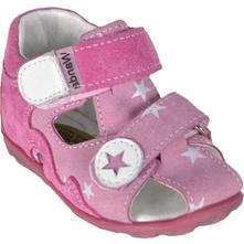 Detská celokoženné sandálky wanda ružová, wanda,18 - 26