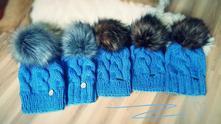 Pletené čiapočky, 98 - 158