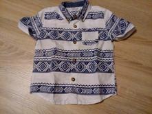košeľa s krátkym rukávom, f&f,80