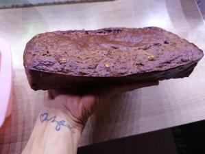 Čokoládovo banánový chlebík, čerstvo upeceny🍌peciem ho každý 3ti den🥰