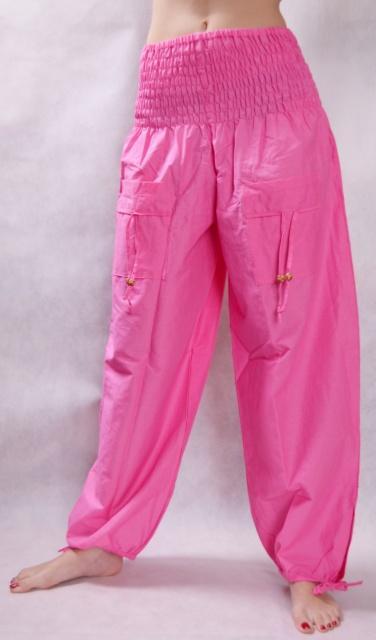 5a435ccb798d Turecké nohavice aladinky haremky ruzove