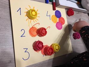 Jemná motorika, farby, čísla, sústredenie