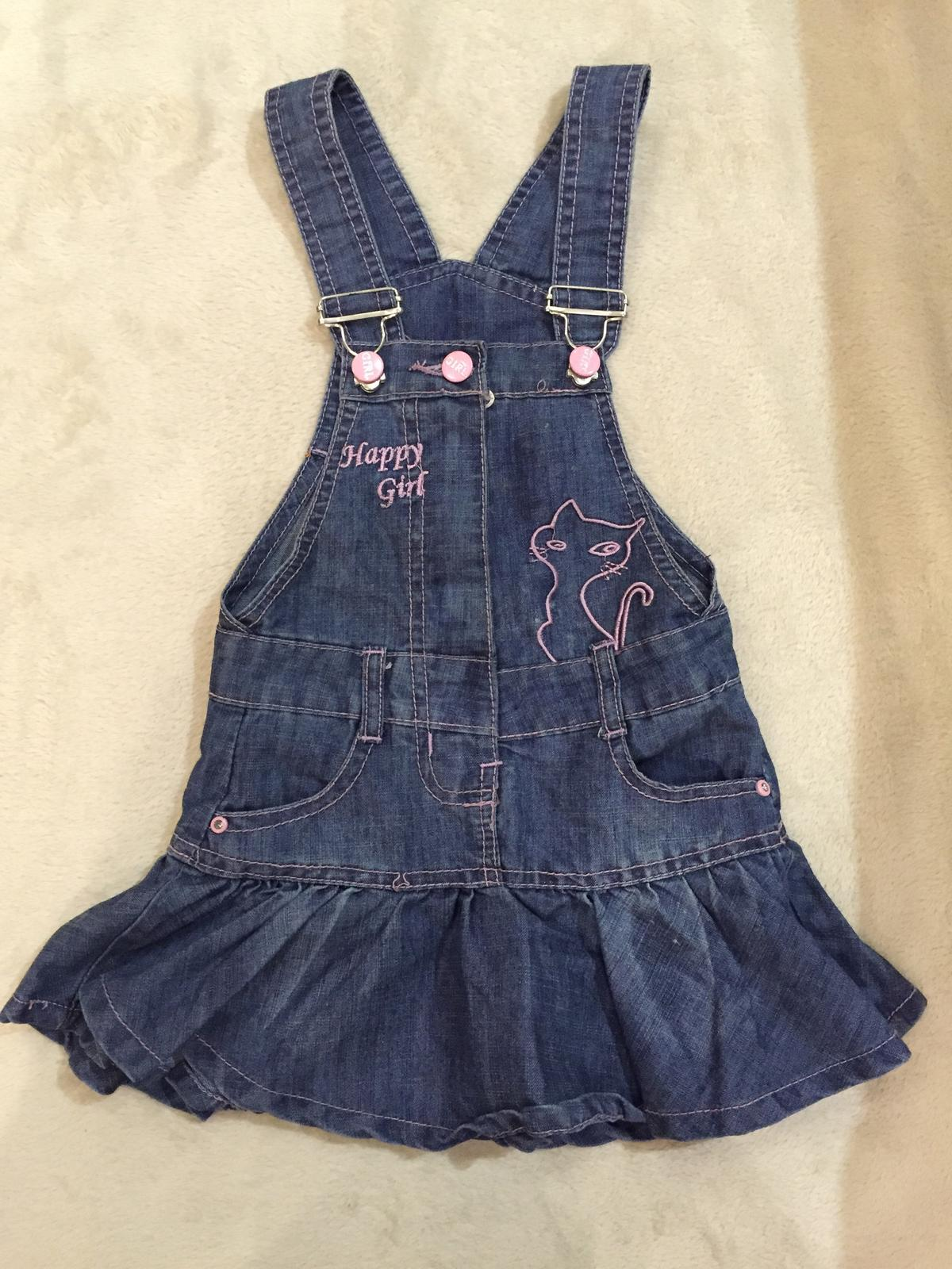 fa36c933e834 Dievčenské rifľové šaty