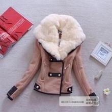 Štýlový kabátik s kožinkou s m l +real foto, m