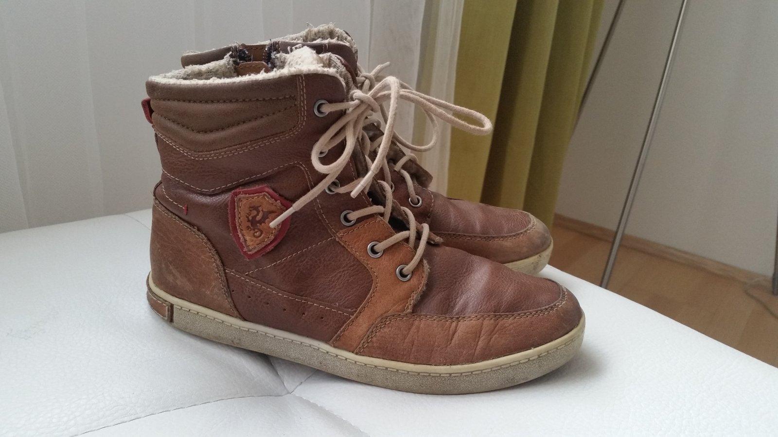 d969c45c2e9a Zimné kožené topánky