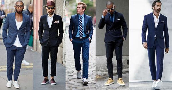 f3688cffd ... oblek a tenisky 🙂 alebo slim fit gate,kosela,motylik,pripadne traky.  farebne by som isla skor do modrej alebo svetlej camel,biela košeľa.  strihovo slim ...