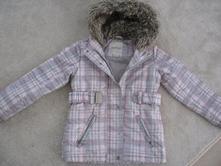 Reserved zimná bunda dievčenská s kožušinkou 4-6 r, reserved,110