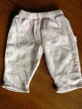 Podšité semišové nohavice 6m, 74