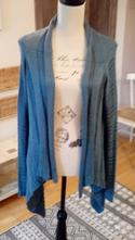 Cvernový sveter ocelovomodrej farby, only,l