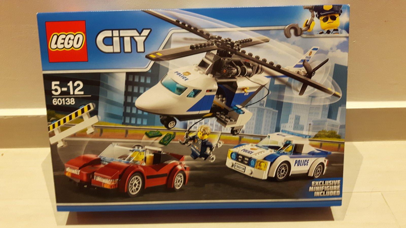 f16b829b1 Lego nahanacka vo vysokej rychlosti 60138 + hracka, - 21 € od predávajúcej  svetlanat | Detský bazár | ModryKonik.sk