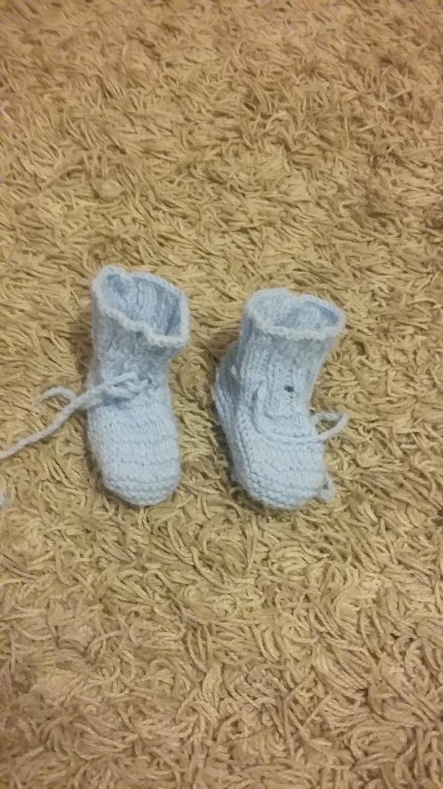 6ad708f00 Štrikované papučky, 17 - 1,50 € od predávajúcej luciah | Detský bazár |  ModryKonik.sk