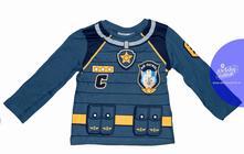 Chlapčenské dlhé tričko paw patrol modré, disney,98 / 104