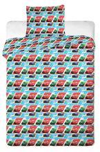 Obliečky do postieľky cars kids blue 90/130 cm, 90,130