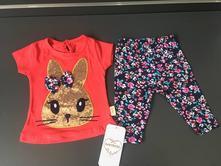 958e1ee802b4 Krásna dievčenská súprava - zajačik