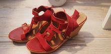 Kožené sandále, 37