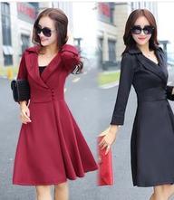 Elegantné šaty - 3 farebné prevedenia, l - xxxl