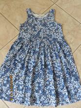 Letné kvetinkové šaty, h&m,116