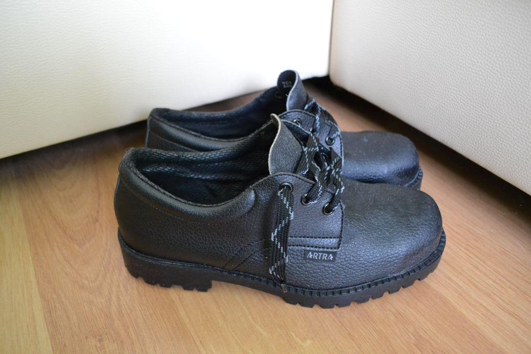 96d9b908a02 Profi kožené topánky s vystuženou oceľovou špicou
