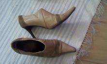 Kožené kotníkové topánky, baťa,36