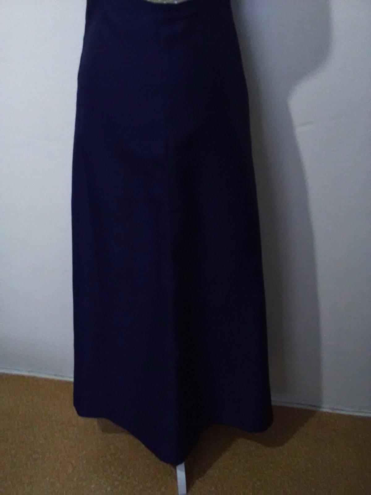 e9a7414f799a 130. dlhá sukňa tm. modrá